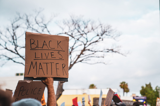 Black Lives Matter protests in Long Beach Album Cover Photo