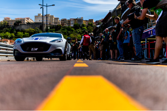 Aston Martin Rapide E in Monaco Album Cover Photo