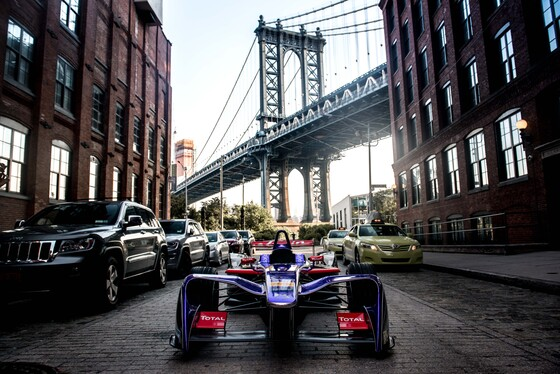 FIA Formula E: New York City 2017 Album Cover Photo