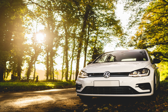 VW Golf R Album Cover Photo