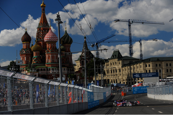 FIA Formula E: Moscow 2015 Album Cover Photo