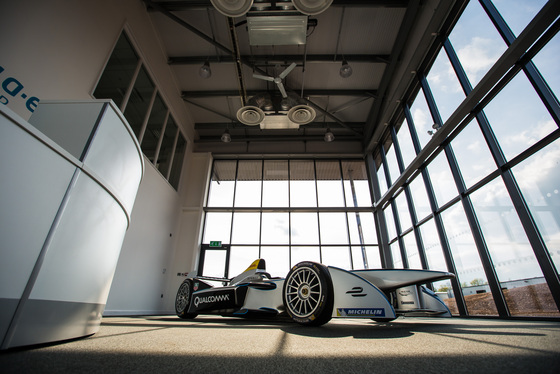 FIA Formula E: Donington Park launch day 2014 Album Cover Photo
