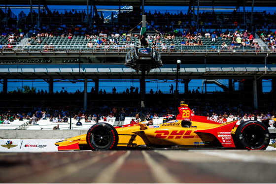 IndyCar: Indianapolis 500 2018 Album Cover Photo