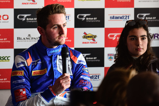 Jamie Sheldrick, British GT Media Day, UK, 28/03/2017 12:31:49 Thumbnail