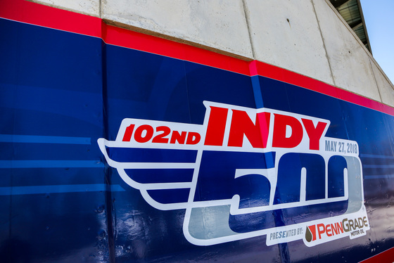 Andy Clary, Indianapolis 500 Open Test, United States, 30/04/2018 13:35:12 Thumbnail