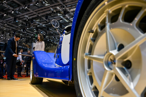 Marta Rovatti Studihrad, Geneva International Motor Show, Switzerland, 06/03/2018 14:44:40 Thumbnail