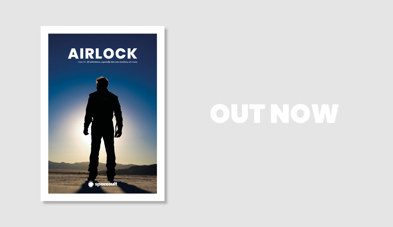 Airlock Magazine Cover Image - Issue 2
